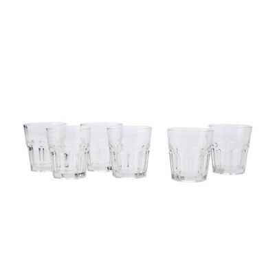 New Maxwell & Williams Faceted Tumblers 340ml Set of 6