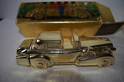 Vintage Avon - Solid Gold Cadillac Excalibur After Shave - Full