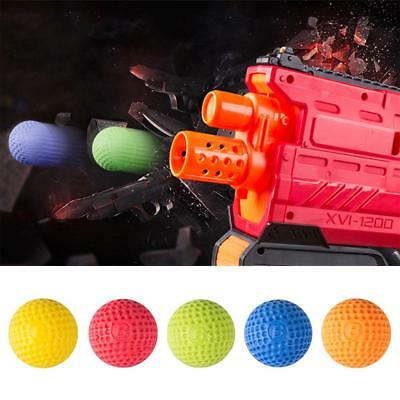 100pcs Rounds Compatible Gun Bullet Balls For Nerf Rival Apollo Zeus Refill Toy