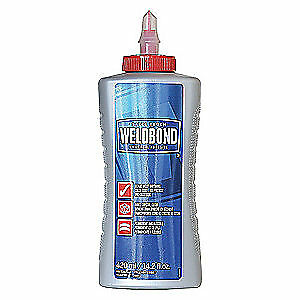 WELDBOND Glue,14.2oz,Multi-Purpose,White,Low VOCs, 058951504207, White