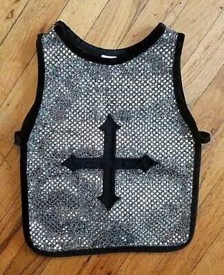 Medieval Roman Chest Plate of Armor Vest Creative Education 3-8 Sm-L Dress Up