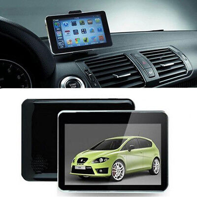 4GB 5'' TFT Touch Screen Auto Car Navigation SAT NAV FM Free Map Update MP3 GPS