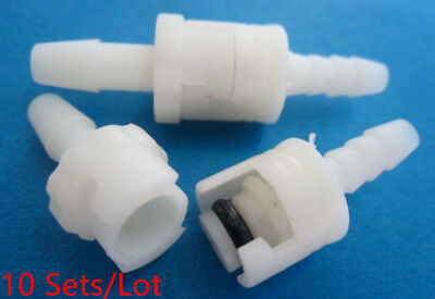 10 Sets GE Marquette NIBP Cuff Air Hose Connector For Blood Pressure Cuff