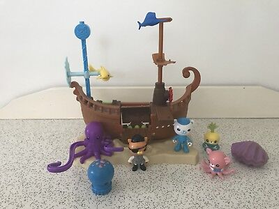 Octonauts Kwazii's Shipwreck Playset - with EXTRAS included
