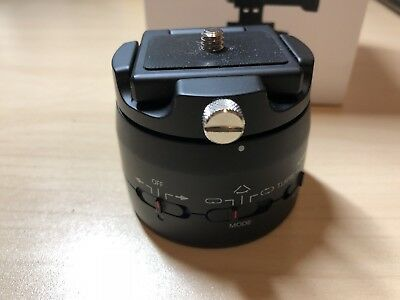 Motorized Panning Head Gopro Action Cam Timelapse Variable Speeds and Built-in R