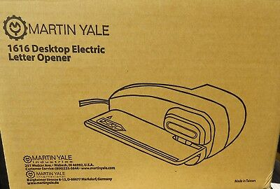 Martin Yale Automatic Electric Letter Opener Model 1616 - NEW FACTORY SEALED BOX