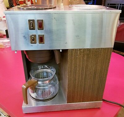 Commercial BUNN Two Burner VPR Pour-Omatic COFFEE Maker