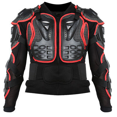 Size S~XXXL Motorcycle Motocross Racing Protective Full Body Armor Jacket Guard