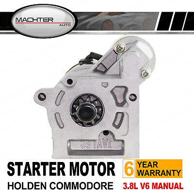 Holden Starter Motor Commodore VN VP VR VS VT VX VY 3.8L V6 Monaro Manual Trans