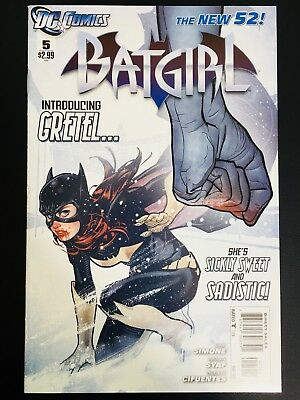 Batgirl (2011) #5 NM/MT 9.8 DC Comcis New 52 Adam Hughes Cover! Hot!!! Simone