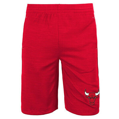 Youths Chicago Bulls NBA Free Throw Shorts - Red