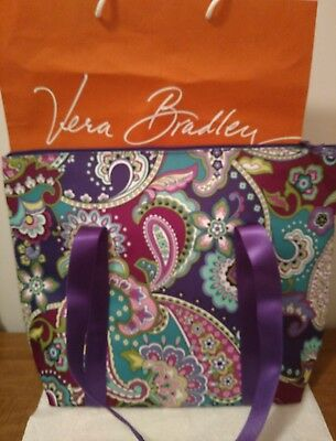 Vera Bradley Heather 14826-144 Cooler Tote Insulated Bag Zip Close Nwt
