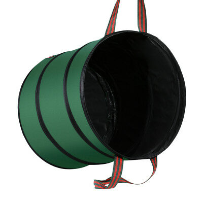 Foldable Garden Pop Up Leaf Trash Storage Bucket  Bags Garden Can Container