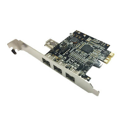 Skymaster PCI-E IEEE 1394B 3 Port Firewire 800 Card TI Chipset