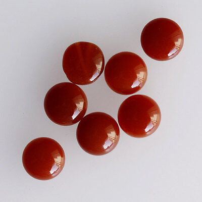 21MM Round Shape, Carnelian Calibrated Cabochons AG-227