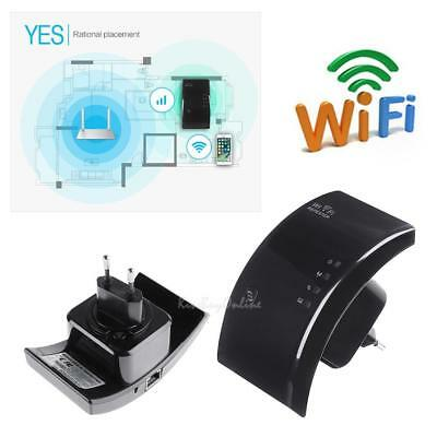 300Mbps Wifi Router Signal Extender Booster Wireless-N AP Range 802.11 Repeater