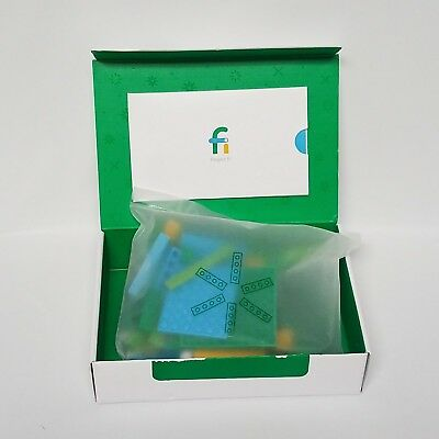 Google Project Fi Lego Holiday Gift Kit Phone Stand Only Building Block Kit