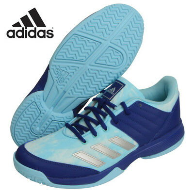 adidas Unisex Badminton Shoes LIGRA 5 W Sky Blue adiWEAR Racket BY2580