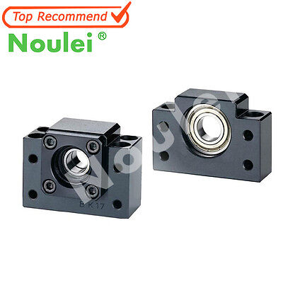 Noulei BK10-15 and BF10-15 C7/C5 Support Unit Set For Rolled Ball Screws CNC Kit