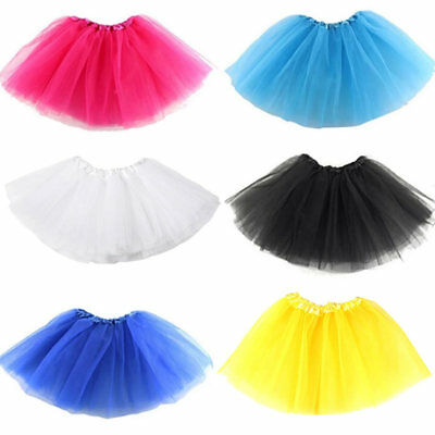 Girls Breathtaking Ballet Tutu Princess Dress Up Dance Wear Costume Party Skirt.