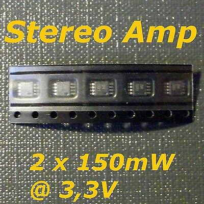 5x TPA6110A2 150-mW Stereo Headphone Audio Amplifier ( =LM4881)
