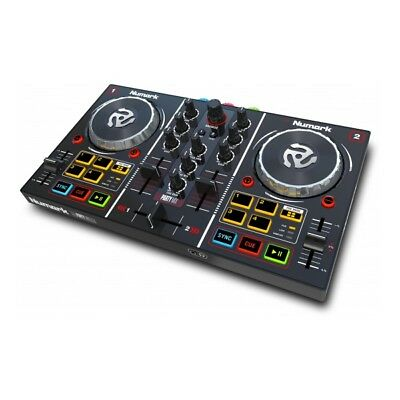 Numark Party Mix | DJ Controller inkl. Virtual DJ LE und Lichteffekt | NEU