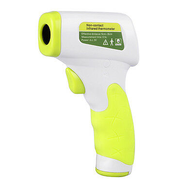 2018 Digital Non-contact IR Infrared Thermometer Temp Tester Humidity Dew Point