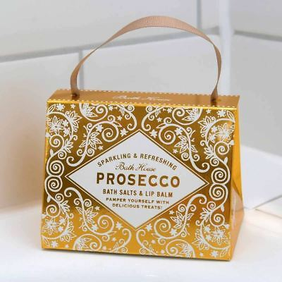 Cocktail Collection Prosecco Scented Handbag Treats Gift Set by Bath House