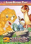 2005 Land Before Time: 2 Mysteries Beyond the Great Valley Animation NEW DVD