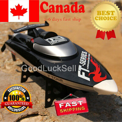 High Speed Power Brushless Water Cooling RC Racing Boat Gift FT012 4CH 2.4G CAN