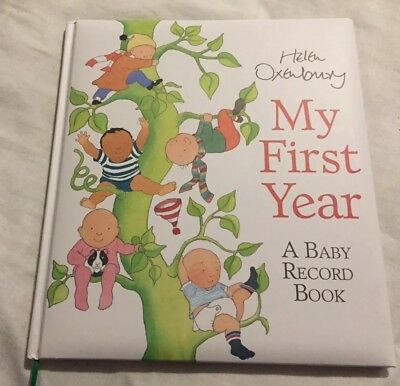My First Year Baby Book