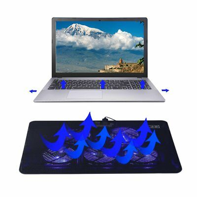 Ice Butterfly V5 Fans USB Port Cooling Cooler For 14-15 Inch Laptop LOT BS