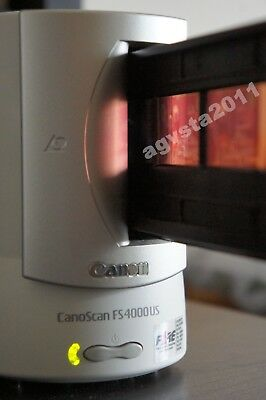 Canon Canoscan FS4000US 35mm Film Scanner Exemplary Condition