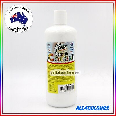 500ml Oz Made Mr. Color Gloss Varnish from Radical Paint Non Toxic