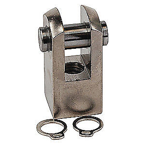 SPEEDAIRE Stainless Steel Rod Clevis,25mm, 32mm Bore, Y-G03SUS