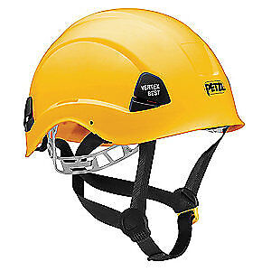 PETZL Rescue Helmet,Yellow,6 Point, A10BYA, Yellow