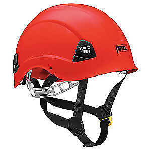 PETZL Rescue Helmet,Red,6 Point, A10BRA, Red