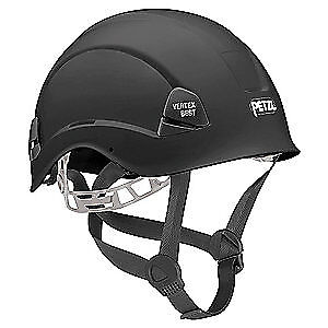 PETZL Rescue Helmet,Black,6 Point, A10BNA, Black