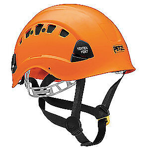 PETZL Rescue Helmet,Orange,6 Point, A10VOA, Orange