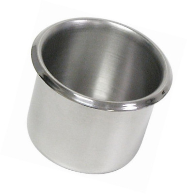Trademark Poker Stainless Steel Cup Holder(2-1/4 inches tall)