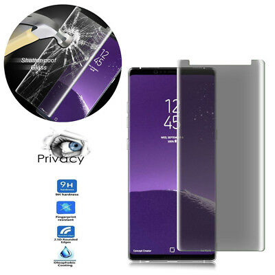 For Samsung Galaxy Note 8 Full Coverage Privacy Tempered Glass Screen Protector