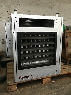 Reznor natural gas fired space heater