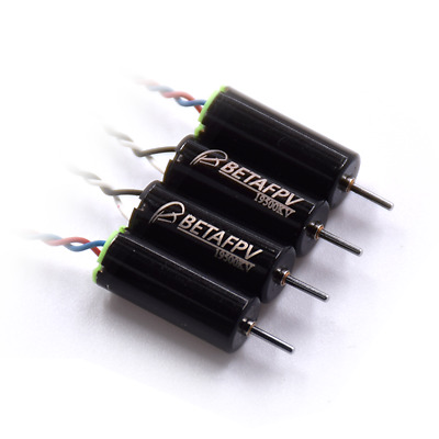 4 BetaFPV 6x15mm 615 motors 19500KV 2CW+2CCW for Tiny Whoop Inductrix UK Stock