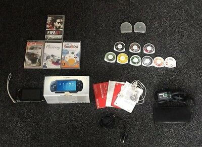 PSP Bundle Black With Original Box And Manuals NOT PS4 OR XBOX