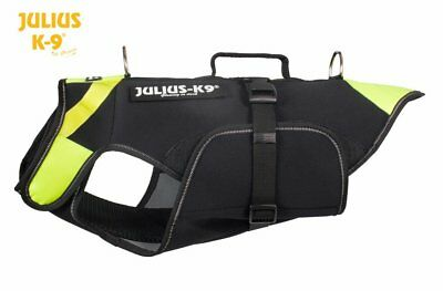 Julius K9 IDC Multifunctional 3in1 Dog Vest/Life Jacket - Extra Swim Pads