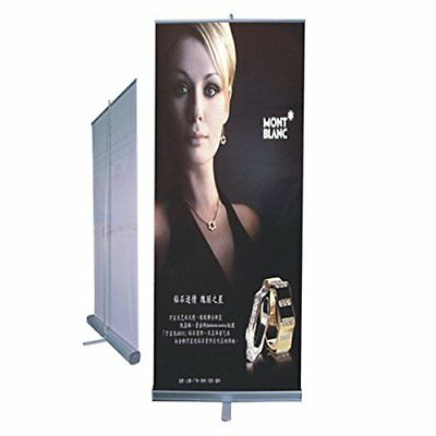 Classical Roll Up Stand 33x79 Banner Stand Trade Show Display Sign Holder Exh...