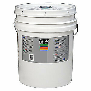 SUPER LUBE Synthetic Oil,ISO 68, 5 Gal., 52050, Clear