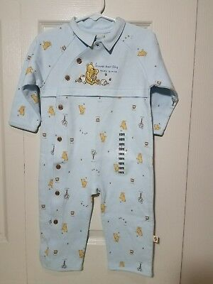 Winnie the Pooh Coverall/Sleepwear for Baby 18 Months Classic Pooh NWT