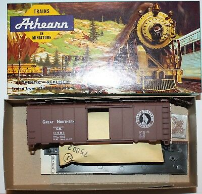 Assembled New! Athearn HO #5007 40/' Box Great Northern Upgraded