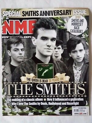 The Smiths Nme Special Anniversary Souvenir Magazine June 2006 Indie  Moz
